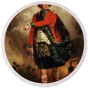 Hugh Montgomerie, 12th Earl Of Eglinton Round Beach Towel