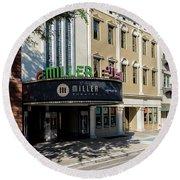 Miller Theater Augusta Ga Round Beach Towel
