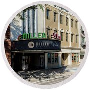 Miller Theater Augusta Ga Round Beach Towel