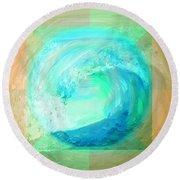 Ocean Earth Round Beach Towel