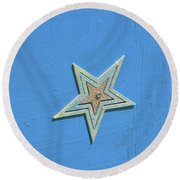 Round Beach Towel featuring the photograph Starlight Starbright by Jamart Photography