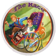 The Race Round Beach Towel