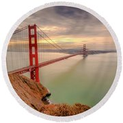 The View- Round Beach Towel