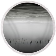 Transmigrations I Round Beach Towel