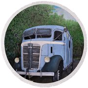 1937  Gmc Coe Round Beach Towel