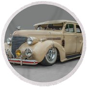 1939 Chevrolet Master Deluxe Round Beach Towel