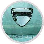1958 Ford Fairlane Round Beach Towel