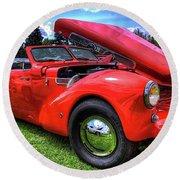 1969 Cord Automobile Round Beach Towel