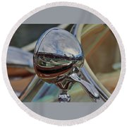 Riva Chrome Round Beach Towel