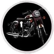 Royal Enfield Classic 500 Round Beach Towel