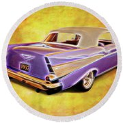 57 Droptop Round Beach Towel