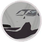 Nissan Fairlady Z432 Abstract Design Round Beach Towel