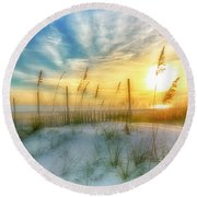 A Beach Dream Round Beach Towel