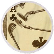 A Classic Round Round Beach Towel