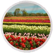 A Piece Of Holland In Jersey Round Beach Towel