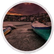 A Quiet Moment - Cornwall Round Beach Towel