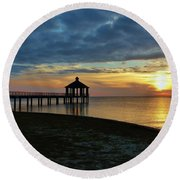 A Sense Of Place Round Beach Towel
