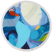 A Woman Named Emory Round Beach Towel