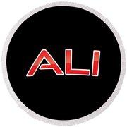 Ali Round Beach Towel