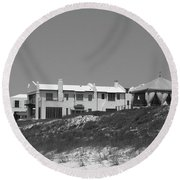 Alys Beach View Round Beach Towel