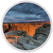 American Southwest Round Beach Towel