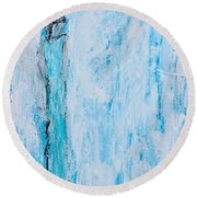 Angel Of Dreams And Hope Round Beach Towel