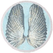 Angelwing Shell Round Beach Towel
