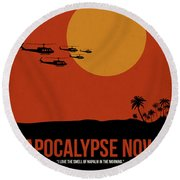 Apocalypse Now Round Beach Towel
