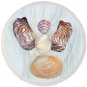 Ark Angel  Round Beach Towel