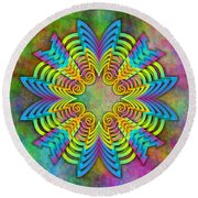 Arrow Root 3 Round Beach Towel