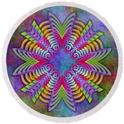 Arrow Root 4 Round Beach Towel