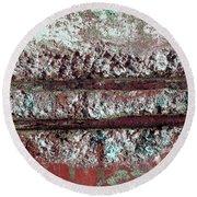 Round Beach Towel featuring the photograph Art Print Abstract 14 by Harry Gruenert