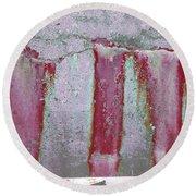 Round Beach Towel featuring the photograph Art Print Abstract 22 by Harry Gruenert