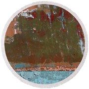 Round Beach Towel featuring the photograph Art Print Abstract 29 by Harry Gruenert