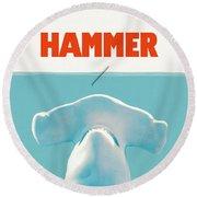 Hammer Round Beach Towel
