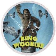 King Wookiee Round Beach Towel