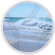 Aruba Sparkle  Round Beach Towel