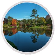 Asticou Reflection Round Beach Towel