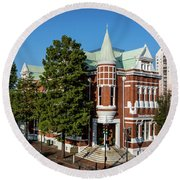 Augusta Cotton Exchange - Augusta Ga Round Beach Towel