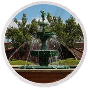 Augusta Riverwalk - Augusta Ga Round Beach Towel