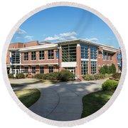 Augusta University Student Activity Center Ga Round Beach Towel