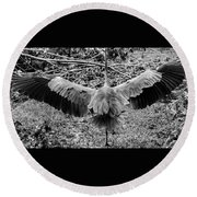 Time To Spread Your Wings Round Beach Towel