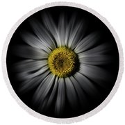 Backyard Flowers 52 Color Flow Version Round Beach Towel
