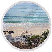 Beautiful Noosa Beach  Round Beach Towel
