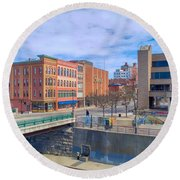 Binghamton Art Round Beach Towel
