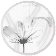 Bloom No. 10 Round Beach Towel