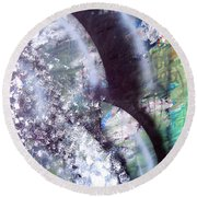 Blossoming Round Beach Towel