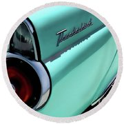 1955 T-bird Round Beach Towel