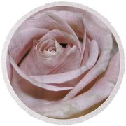 Blushing Round Beach Towel