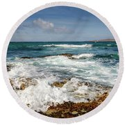 Borve Round Beach Towel